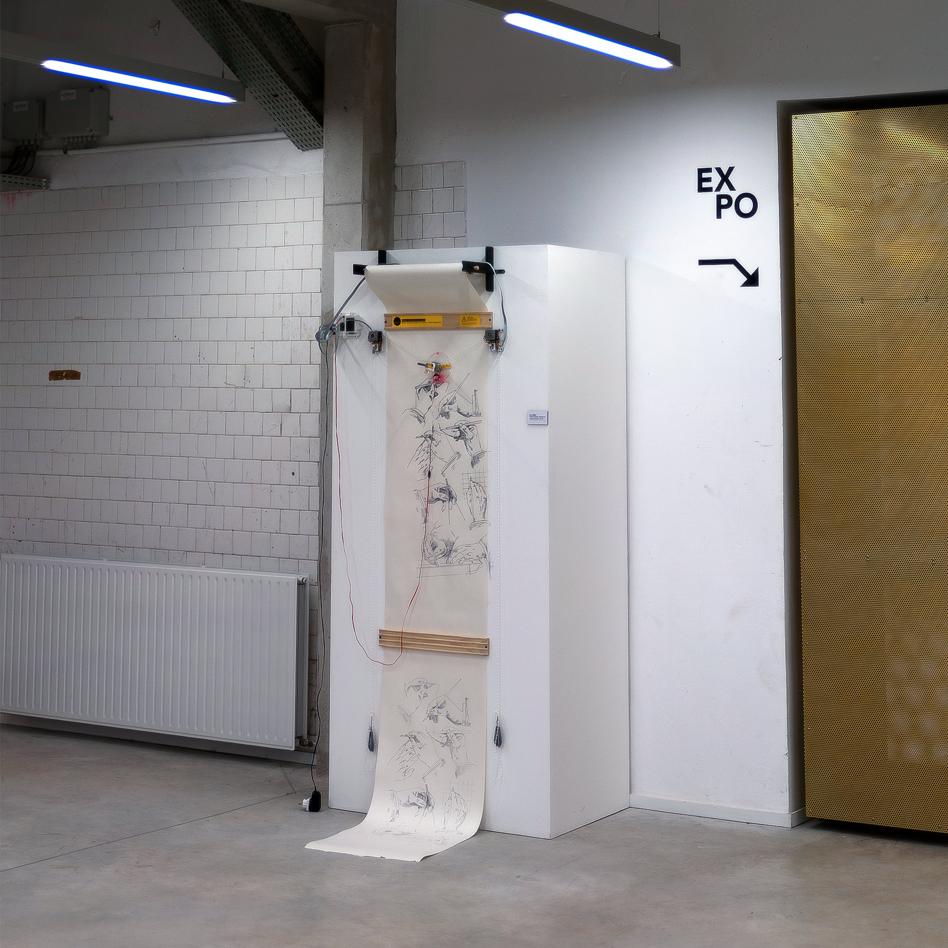 Installation - Paul Roset - Le Cellier Reims