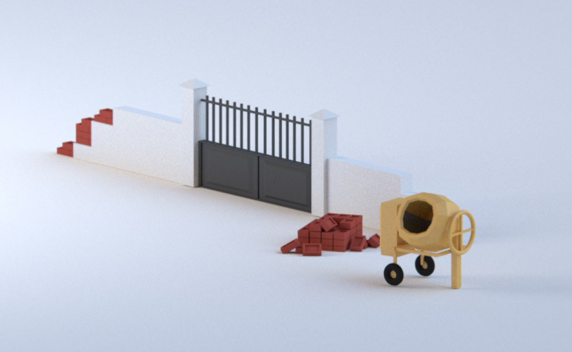 bricolage-portail-blanc